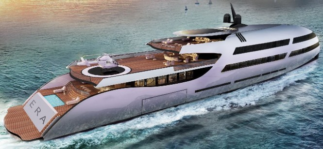 80m ERA motor yacht concept by Ricky Smith Designs