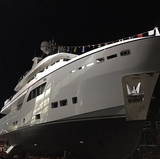 Cantiere delle Marche launched M/Y GALEGO