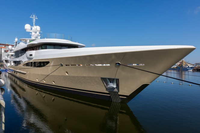 AMELS 180 superyacht LILI - Exterior by Tim Heywood and interior by Laura Sessa