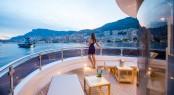 Aboard luxury charter yacht GATSBY