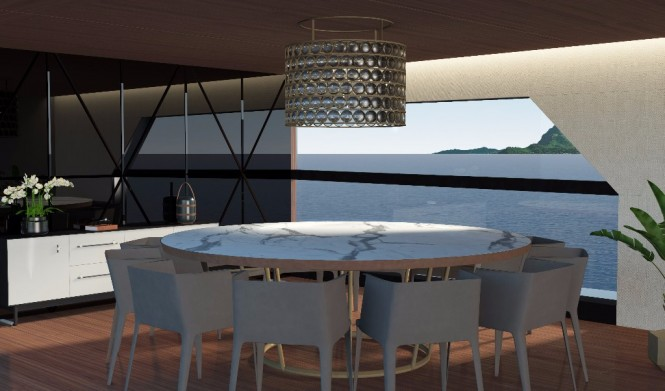 Baglietto 55m Santa Maria Magnolfi - Dining room