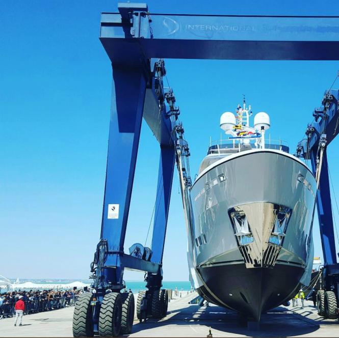 CDM launched motor yacht GALEGO