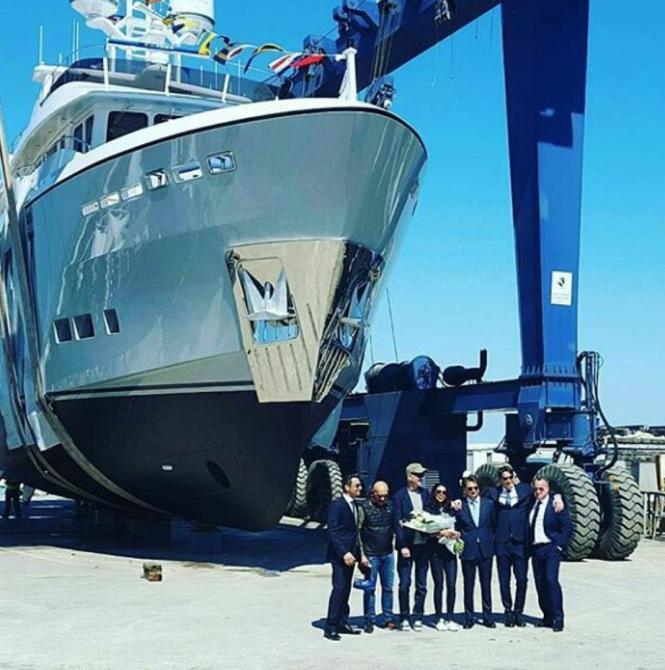 CdM launched M/Y Galego