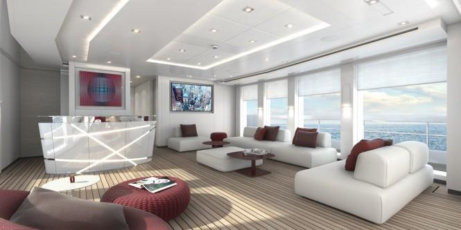 Heesen-motor yacht Home - interior renderings