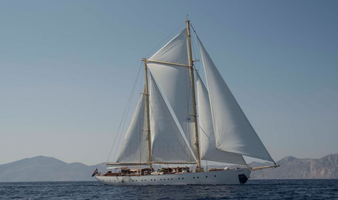 Luxury schooner RHEA - Built by Ark Yachts