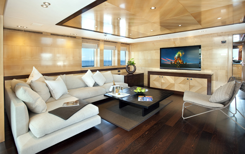Luxury yacht CHRISTINA G - Skylounge
