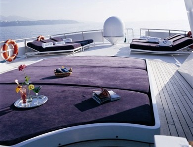 Luxury yacht COSTA MAGNA - Sundeck