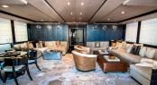 Luxury yacht PLAN B - Main salon