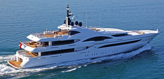 Luxury yacht VICKY - Built by Turquoise Yachts