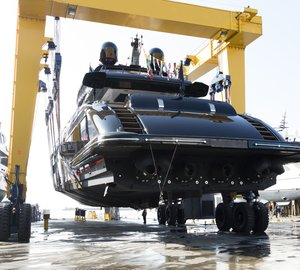 Overmarine Launched the 12th Sporty Superyacht from the Mangusta 165 Series