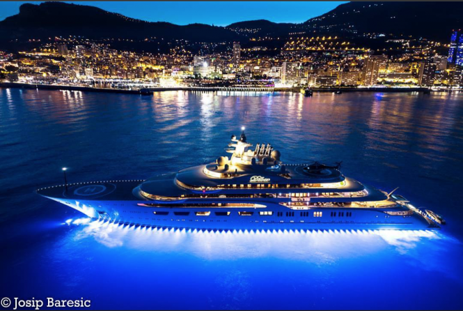 Mighty Dilbar in Monaco. Photo credit @j_b_photography__