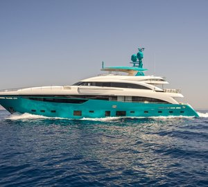 Stunning superyacht Anka is ready for charter in the Mediterranean