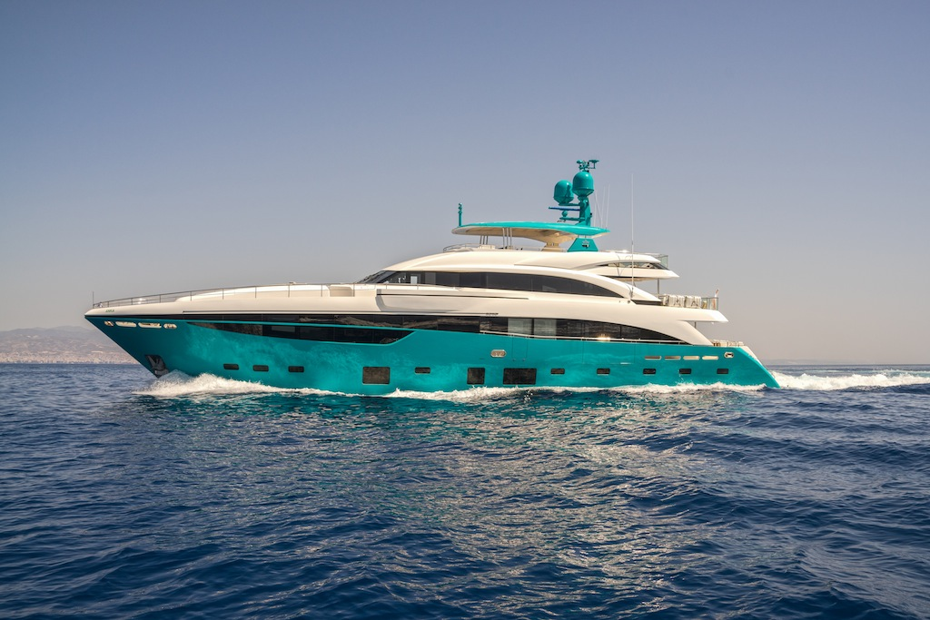 Motor Yacht Anka Built By Princess Yachts Yacht