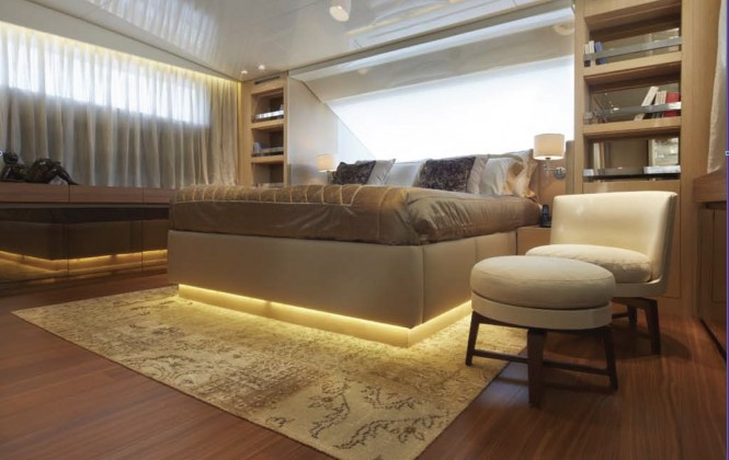 Motor Yacht INDIGO - Master cabin