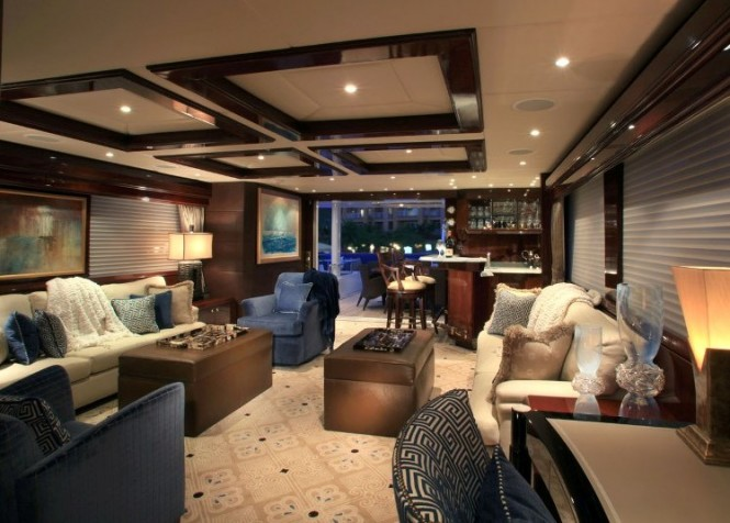Motor yacht CASTELLINA - Main salon