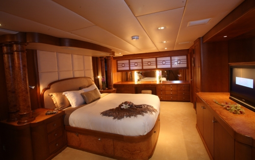 Motor yacht DAYDREAM - Master suite