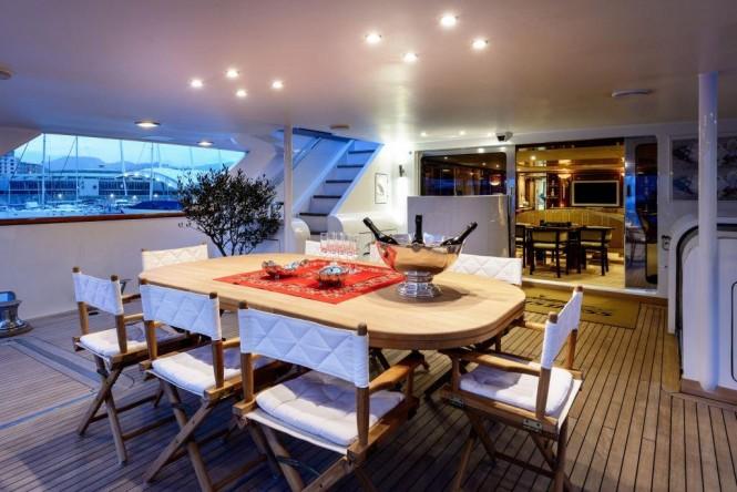 Motor yacht MISTRESS - Alfresco dining