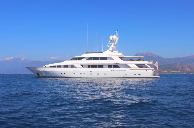 Motor yacht MISTRESS - Built by Benetti