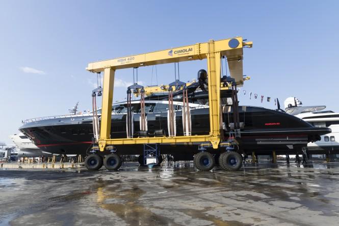 Motor yacht Mangusta 165 - 12