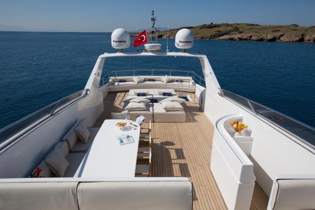 Motor yacht NOMI - Sundeck