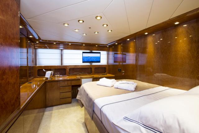Motor yacht NOMI - VIP Cabin Main Deck