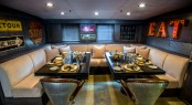 Motor yacht PLAN B - Dining in the Great room
