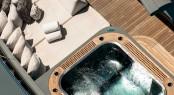 Motor yacht PLAN B - Jacuzzi and sunpads