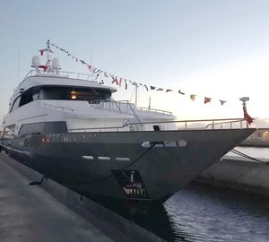 Brand New for Summer Charter: 39m Superyacht OTTAWA IV Launched in Turkey