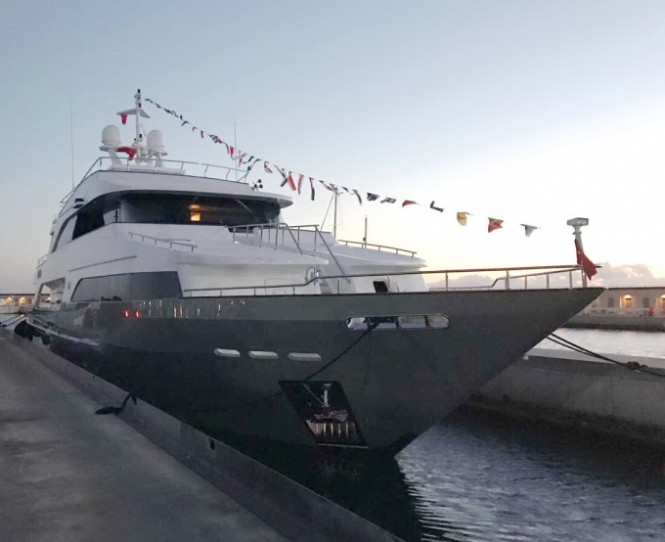 OTTAWA IV superyacht launched in Turkey, now preparing for her first summer charters in the Mediterranean