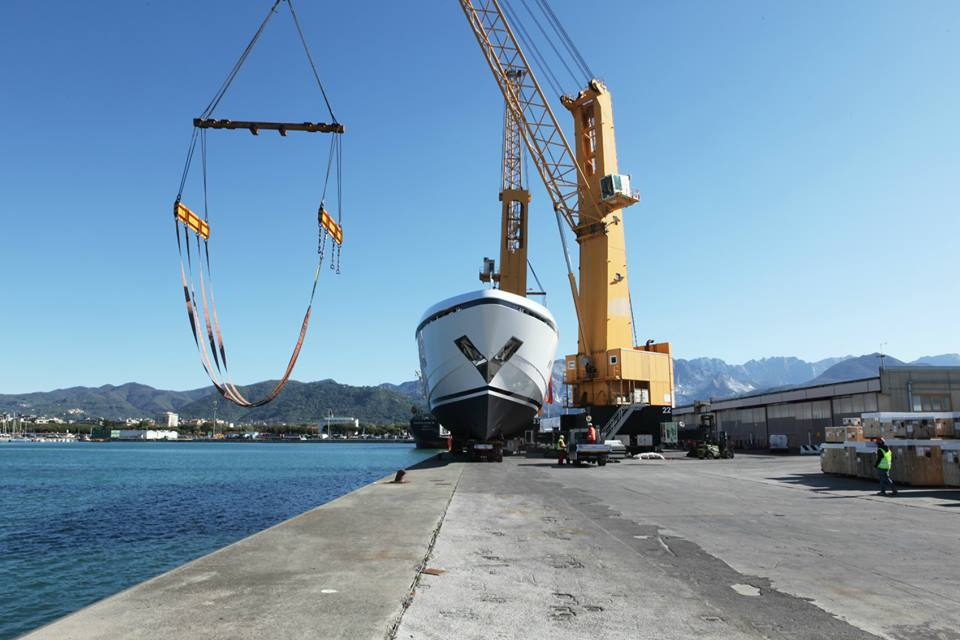 Official launch CCN 50m superyacht Elsea