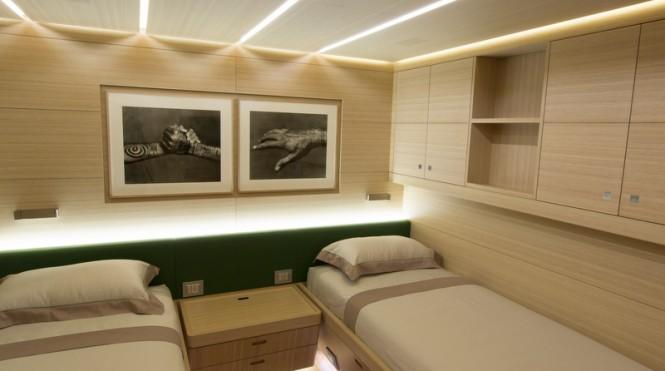 Ohana Yacht - Twin Cabin Credit Fitzroy Yachts