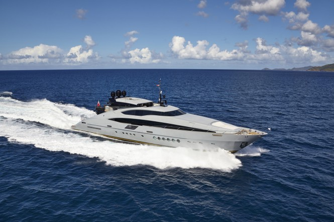 Palmer Johnson 150 Sportsyacht Grey Matters