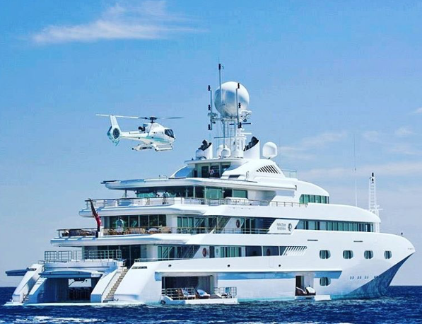 Pegasus VIII. Photo credit @yachtmasters