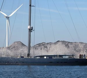 First Photos of Superyacht Ngoni Sailing for the First Time