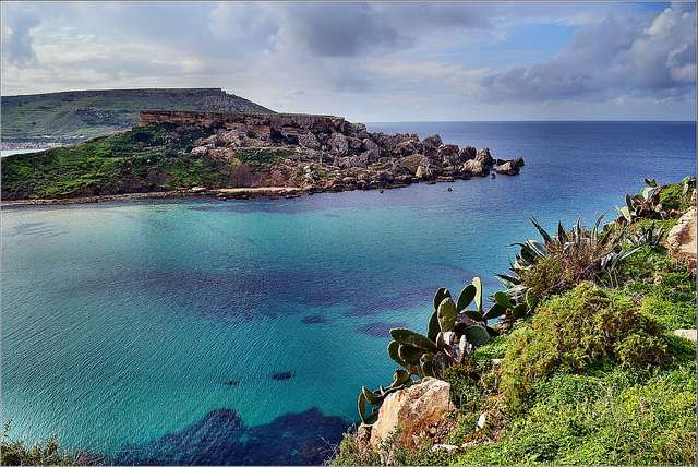Riviera Bay, Malta. Photo credit: Robert Pittman