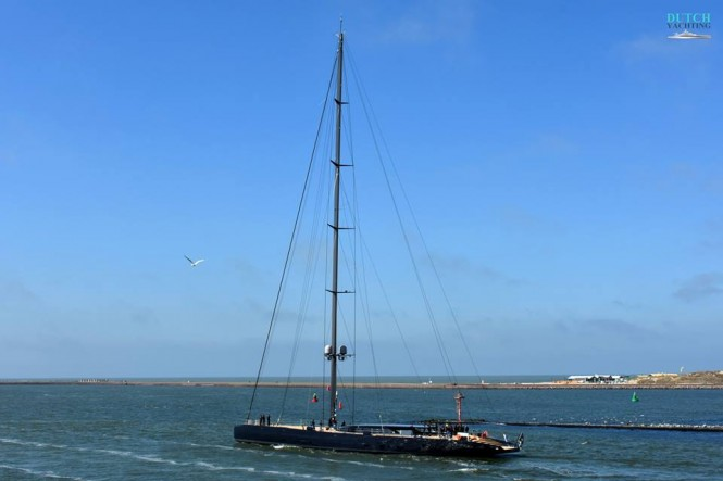 Royal Huisman Launch Sailing yacht Ngoni. Photo Credit Jan Ramaker