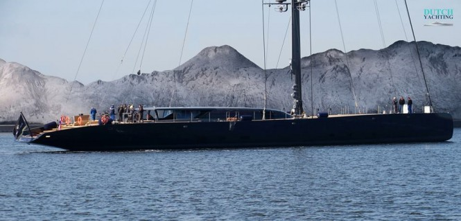 Royal Huisman Ngoni. Photos © Dutch Yachting