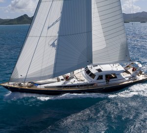 Charter sailing yacht Ree from Spain to the Amalfi Coast