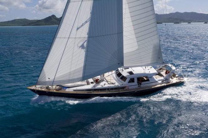 Sailing yacht REE - Built by Valdettaro