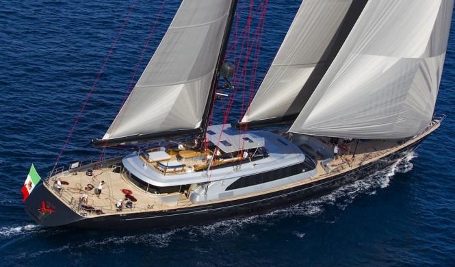 Sailing yacht SEAHAWK - Built by Perini Navi