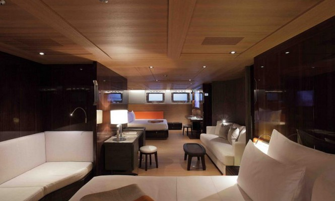 Sailing yacht SEAHAWK - Master suite with private salon
