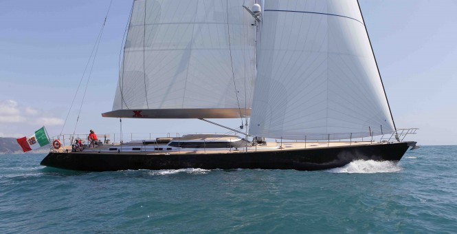 Sailing yacht XNOI - Built by Perini Navi