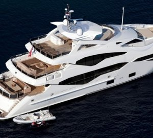 Sunseeker 131' Motor yacht Aladdin Hit the Water in the UK