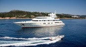 Superyacht CORAL OCEAN. Photo credit: Jeff Brown