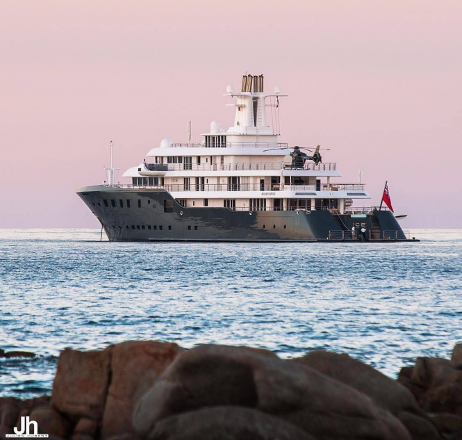 Superyacht ICE. Photo credit Julien Hubert