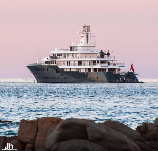 Superyacht ICE. Photo credit Julien Hubert