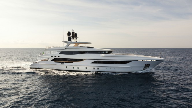 Superyacht MR. T - Built by Baglietto