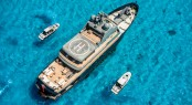 Superyacht PLAN B - Aerial view