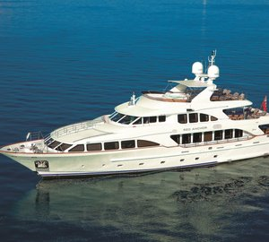 Make M/Y Red Anchor your Mediterranean charter this summer