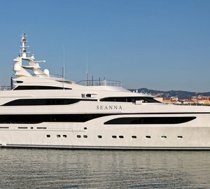 Charter luxury yacht Seanna in the Mediterranean